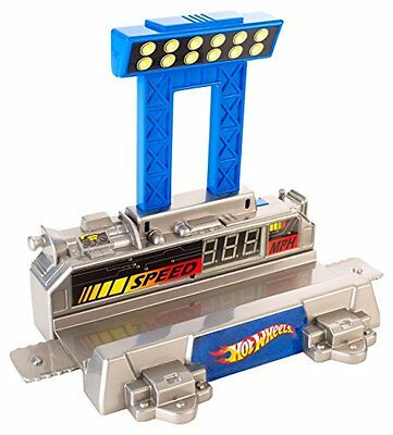 NEU: Hot Wheels Toy - Track Builder Workshop - Digital Speedometer