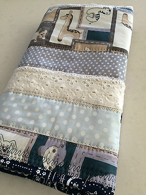 NEW Handmade Baby Blanket/Quilt for Pram, Car, Kick mat