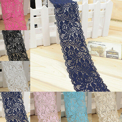 Luxury Lace Trim Ribbon For Wedding Bridal Dress Embroidered DIY Sewing Craft