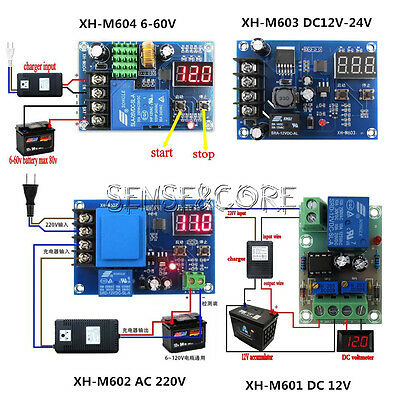 4 XH-M Series Battery Charging Control Board Charger Power Supply Switch Module