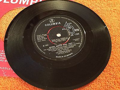 "THE BARRON KNIGHTS - Merry Gentle Pops - 7"" Single - 1965 Columbia"