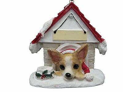 Chihuahua Tan and White Ornament A Great Gift For Chihuahua Owners Hand Painted