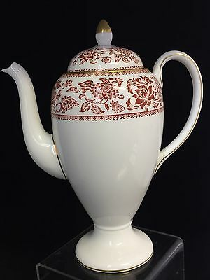 "Elegant Looking Wedgwood ""Red Damask"" Teapot"