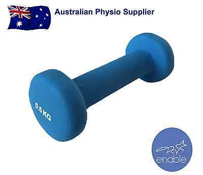 0.5kg Hand Weight Dumbbell | Fitness Exercise Equipment | Pair 2 Units