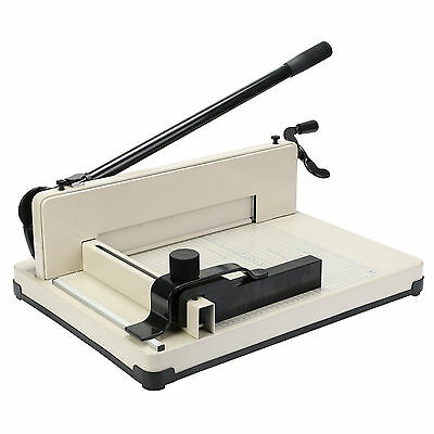 """12""""  30.5cm Paper Cutter A4 To B7 Wood Base Guillotine Page Trimmer Knife"""
