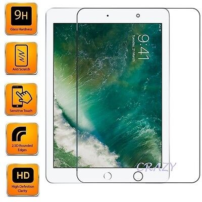 Tempered Glass LCD Screen Protector Film For Apple iPad Pro 9.7   10.5   12.9