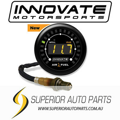 Innovate Motorsports MTX-L PLUS Wideband O2 Air Fuel Ratio Gauge Kit (3ft)- 3924