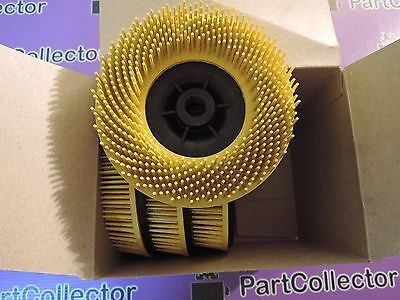 New 3M Bristle Disc Rondel Plastic Brush With Abrasive Grains Universal 24538