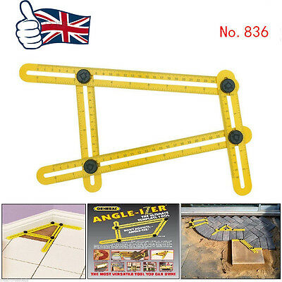 Hot Multi-Angle Ruler Template Tool 836 General Measuring Tools TGR Angle izer