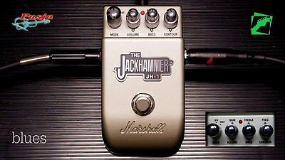 Marshall JH1 Jackhammer Overdrive & Distortion Guitar Effects Pedal - JH-1