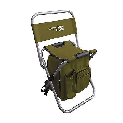 NEW Comfort Fishing Stool Bag Folding Chair Fly Coarse Match Camping Festival