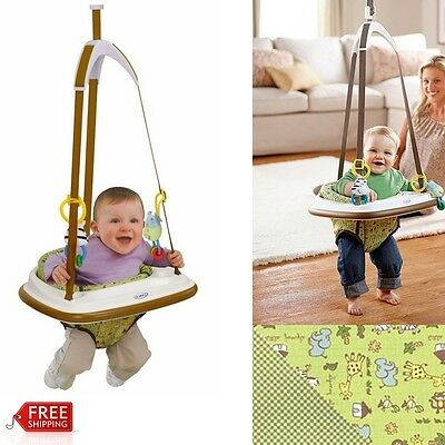 BABY ACTIVITY JUMPER Bumper Doorway Hanging Swing Chair Secure ...