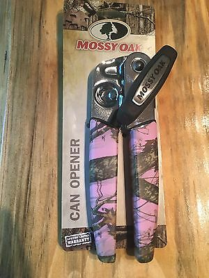 Mossy Oak Pink Camo Can Opener Kitchen Hunters Women Lodge Cabin Wildlife