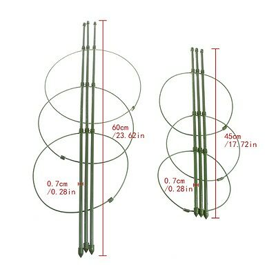 Garden Plant Support Climbing Plants 45cm 60cm Conical Trellis Supporter Frame