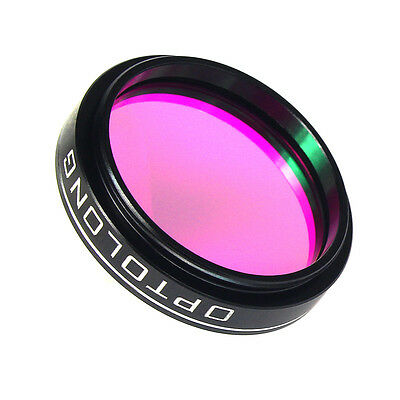 """1.25"""" 25nm O-III Filter for Telescope 1.25"""" Eyepiece Cuts Light Pollution TOP"""