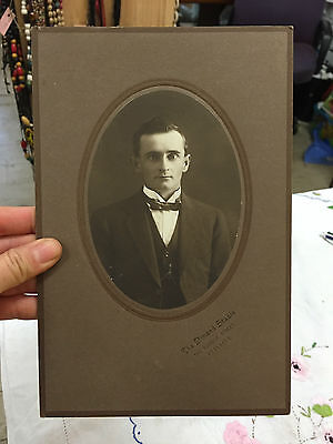 1x Antique Vintage Old Photo Pictures Photography Man suit Adelaide