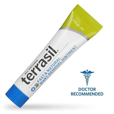 Terrasil ® Wart Removal - Safe for Sensitive Skin, Dr. Recommended, 100% Pain
