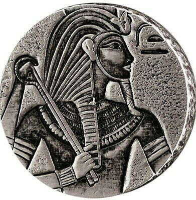 Egyptian Relic Series 5 oz silver coin Republic of Chad