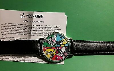 Canada Mint Looney Tunes Watch  And Wooden Box (No Coins)