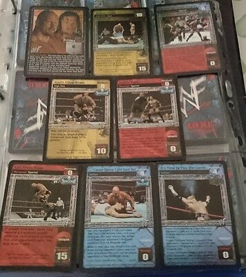 WWE Raw Deal - Two Man Power Trip superstar card and starter deck foils
