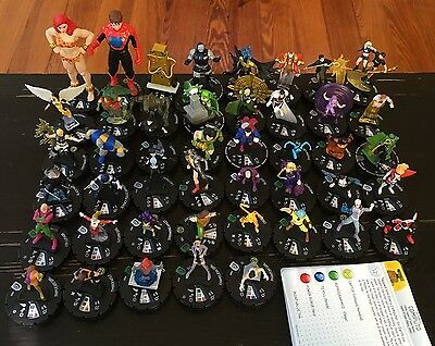 Heroclix DC Superman and the Legion of Super Heroes CUR Complete Set Lot