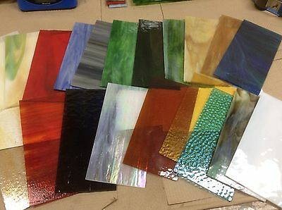 ALL WISSMACH Stained Glass / Mosaics 4x8 pieces - 15 Total pieces