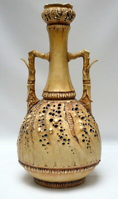 Ancien Vase Diffuseur Amphora Porcelaine China Ceramique Keramic Vase