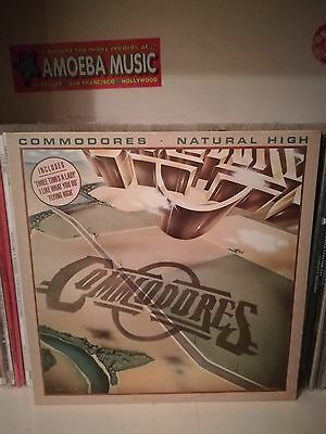 Commodores ‎– Natural High Lp (Motown, Uk 1978)