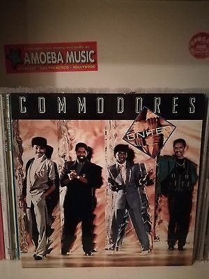 Commodores ‎– United Lp (Polydor, Italy 1986)