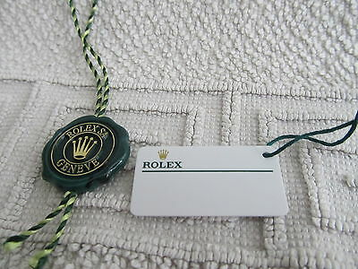 Rolex Hangs Tags * New/ Neu *