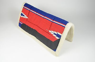 Bright Coloured Western Fleece Lined Saddle Pad BNWT Range of Colours