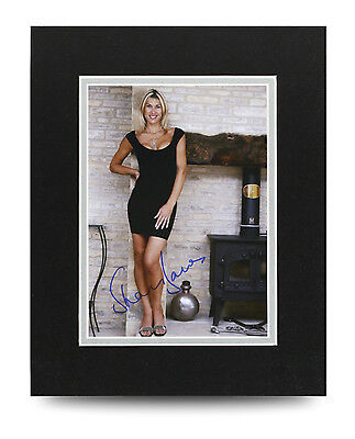 Sharron Davies Signed 10x8 Photo Display Olympic Swimmer Memorabilia Autograph