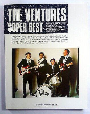 The Ventures Super Best Band Score Japan Guitar Tab