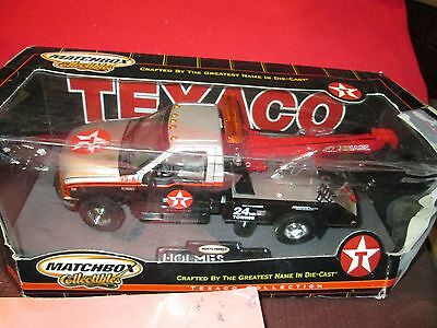 MATCHBOX 1/24 texaco FORD F350 TOW TRUCK miller industries Towing Wrecker Holmes