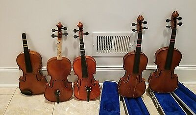 Andrew Schroetter Violin with case