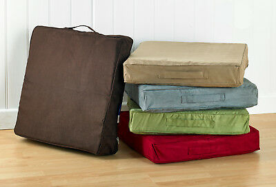 Booster Cushion For Chairs Quality Faux Suede 5 Colours Available