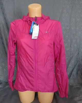 Ladies Pink Crane Featherweight Running Jacket Size M UK 12-14 *BNWT* G6 08