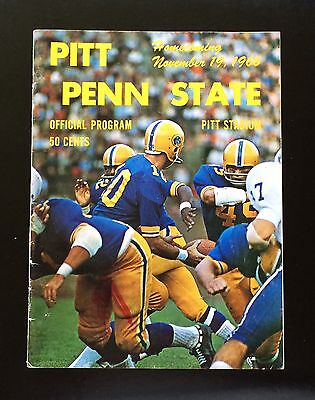 Pitt Panthers Penn State Nittany Lions 1966 Homecoming Football Game Program