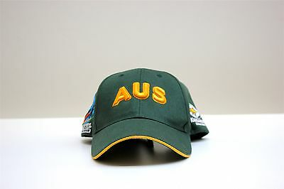 Kangaroos Australia 2008 Rugby League World Cup Hat *Rare*