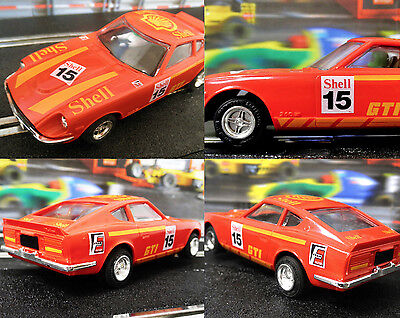 Superb Scalextric Slot Car C.459 Shell Datsun 260Z with original box.