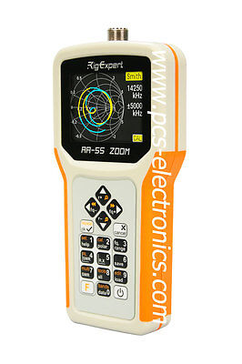 RigExpert AA-55 ZOOM ant. analyzer, fast delivery, 3 years warranty, outside EU