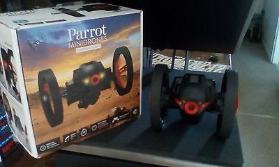 Parrot Jumping Sumo Wi-Fi Controlled  With Camera (Red) Drone