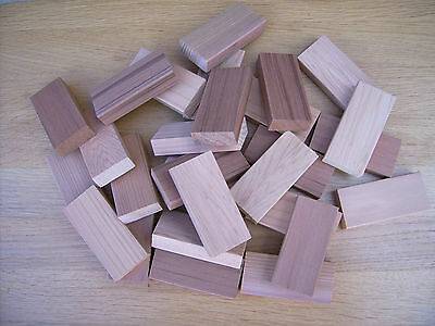 28x Cedar wood blocks, balls. Moth repellant drawer/wardrobe freshener FREE POST