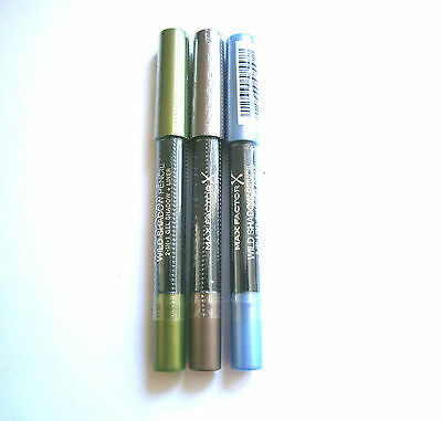 Max Factor Wild Shadow 2 In 1 Gel Shadow + Liner - Various Choices Use Drop Menu