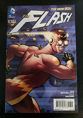 The Flash 28 New52 Steampunk Variant NM or better