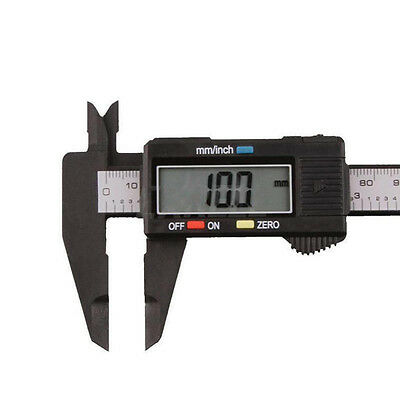 Plastic150MM 6inch LCD Digital Electronic Vernier Caliper Gauge Micrometer Great