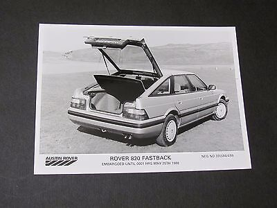 1988 Rover 820 Fastback Original Press Photo..