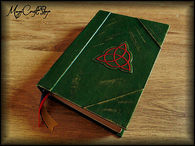 Charmed BOOK OF SHADOWS replica with ALL original pages in english- MEDIUM size