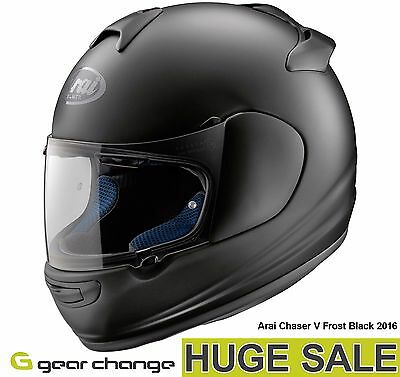 "Arai Chaser V ""Frost Black"" (Size Medium) Was £329.99 - Now £249.99 (24% OFF)"