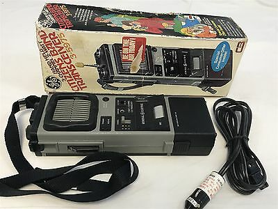 Vintage Ge hand held 3 channel citizens band cb transceiver 3-5975 with box
